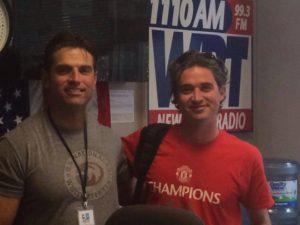 On the radio with Glenn Kirby